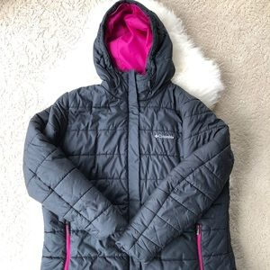 COLUMBIA women's down puffer, sz 1X